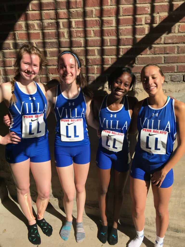 Track Team Represents at Penn Relays