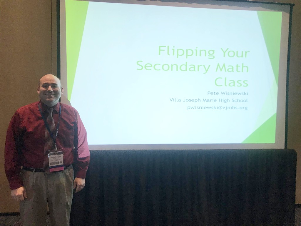 Mathematics Teacher Speaks at Conferences