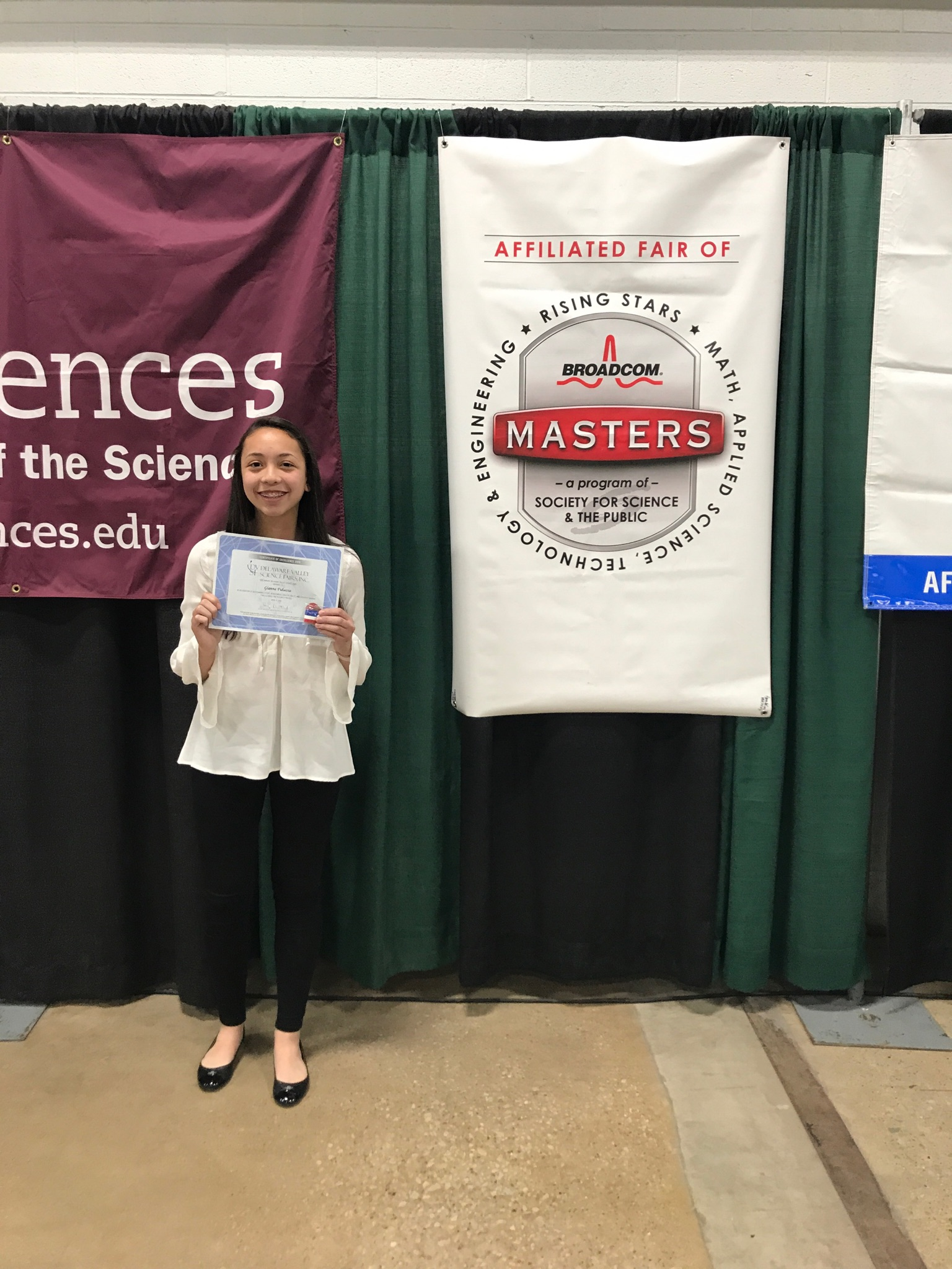 Freshman wins 3rd Place at Delaware Valley Science Fair