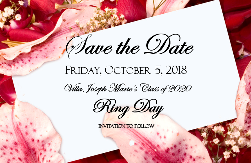 Save the Date for Ring Day, Class of 2020!